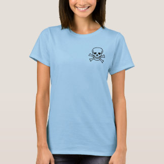 Pirate Babydoll: I think, therefore I am 1. T-Shirt