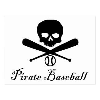 Pirate Baseball Postcard