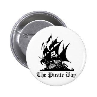 Pirate Bay Internet Piracy Button