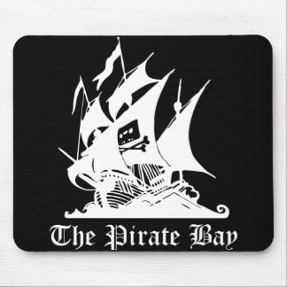 Pirate Bay Mouse Pad - Black version