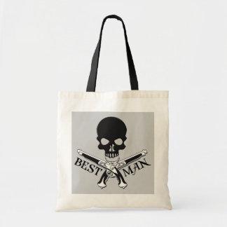 Pirate Best Man Tote Bag