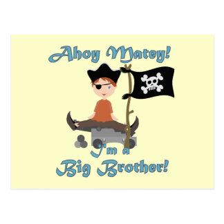 Pirate Big Brother Postcard