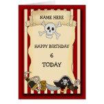 Pirate Birthday Cards