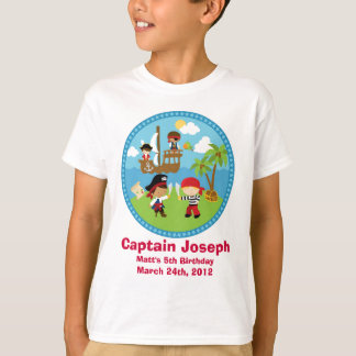Pirate Birthday Party Personalized Shirts - Unique