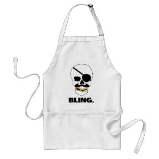 Pirate Bling Standard Apron