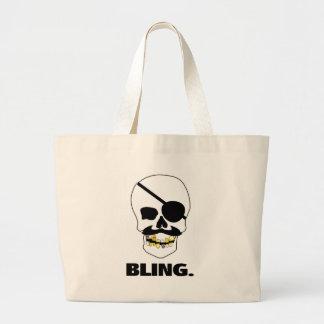 Pirate Bling Jumbo Tote Bag