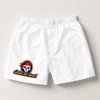 Pirate Blow me down! Mens Boxers
