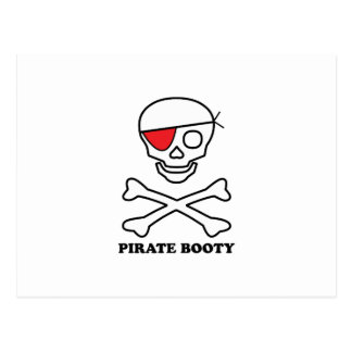 Pirate Booty Post Card