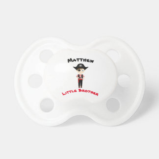 Pirate Boy Little Brother Pacifier