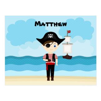 Pirate Boy Postcard
