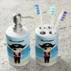 Pirate Boy Soap Dispenser And Toothbrush Holder