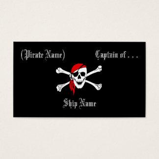 Pirate Business/Profile Card