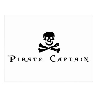 Pirate Captain Postcard