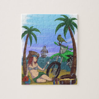 pirate caribbean jigsaw puzzle