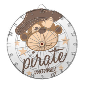 Pirate cartoon cool dartboard