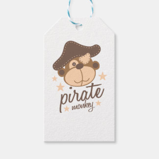 Pirate cartoon cool gift tags