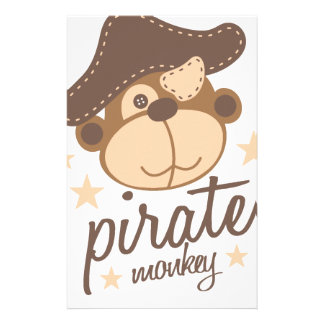 Pirate cartoon cool stationery