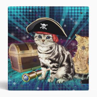 pirate cat 3 ring binder