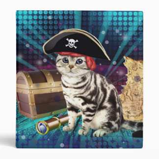 pirate cat 3 ring binders