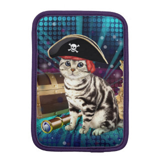 pirate cat iPad mini sleeve