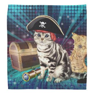 pirate cat kerchief