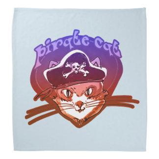pirate cat sweet cartoon head kerchiefs
