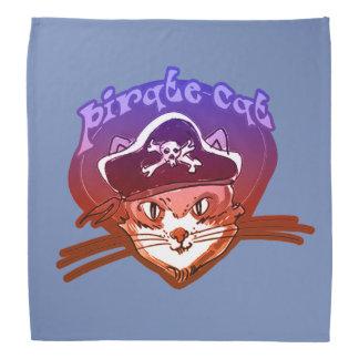 pirate cat sweet cartoon kerchief