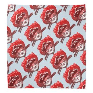 pirate cat sweet cartoon tiled pattern kerchiefs