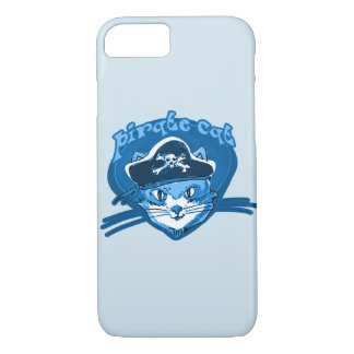 pirate cat sweet kitty with pirate hat cartoon iPhone 8/7 case