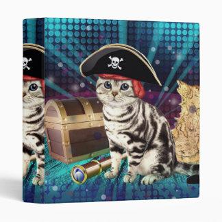 pirate cat vinyl binder