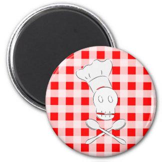 Pirate Chef Fridge Magnets