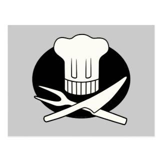 Pirate Chef Postcard