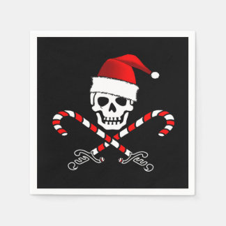 Pirate Christmas Party Paper Napkins