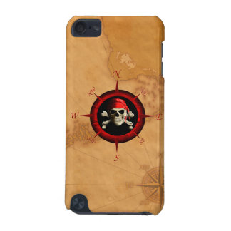Pirate Compass Rose And Map iPod Touch (5th Generation) Cover
