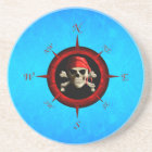 Pirate Compass Rose Coaster