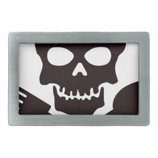 Pirate Cook Rectangular Belt Buckles