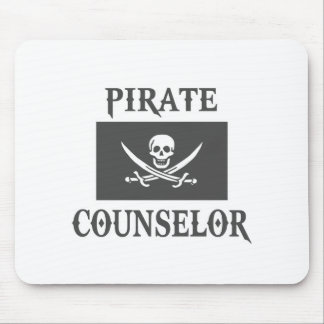 Pirate Counselor Mouse Pads