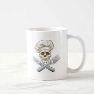 Pirate Crossbones Chef Cartoon Coffee Mug