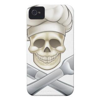 Pirate Crossbones Chef Cartoon iPhone 4 Case-Mate Cases