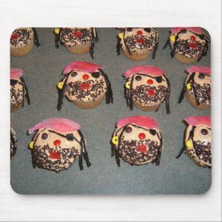 Pirate Cupcake Mouse Pad
