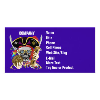 Pirate Days Lake Charles, Louisiana. 30 Colors Custom Photo Card