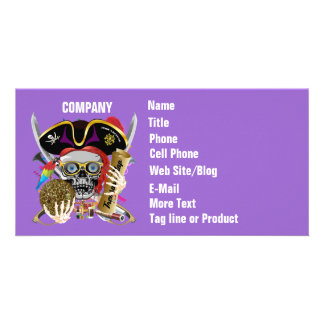 Pirate Days Lake Charles, Louisiana. 30 Colors Customized Photo Card