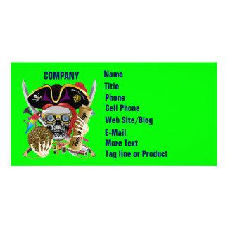 Pirate Days Lake Charles, Louisiana. 30 Colors Photo Card Template
