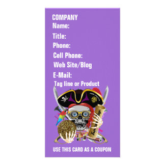 Pirate Days Lake Charles, Louisiana. 30 Colors Personalized Photo Card