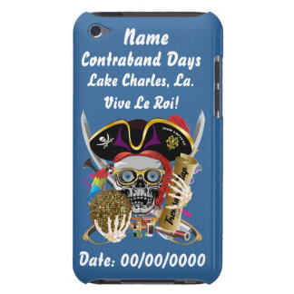 Pirate Days Lake Charles, Louisiana. View Hints iPod Touch Case-Mate Case