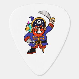 Pirate de bande dessinée avec la jambe et l'épée onglet de guitare