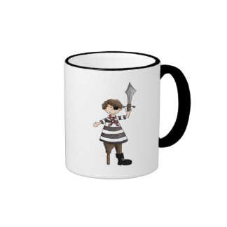 pirate de Cheville-jambe Mug