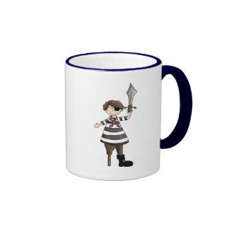 pirate de Cheville-jambe Mug À Café
