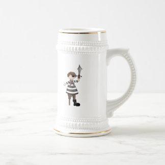 pirate de Cheville-jambe Mugs À Café