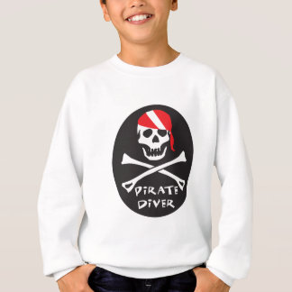 Pirate Diver Sweatshirt